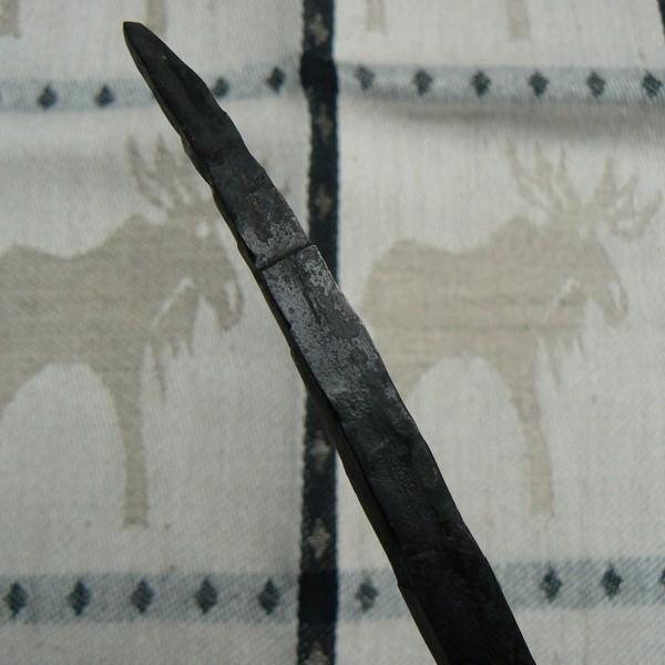 Handgeschmiedeter Kerzenhalter (Detail)