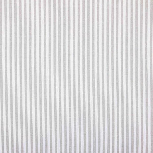 Skandinavische Rollgardine grau-weiß gestreift