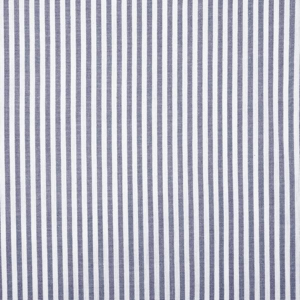 Skandinavische Rollgardine blau-weiß gestreift