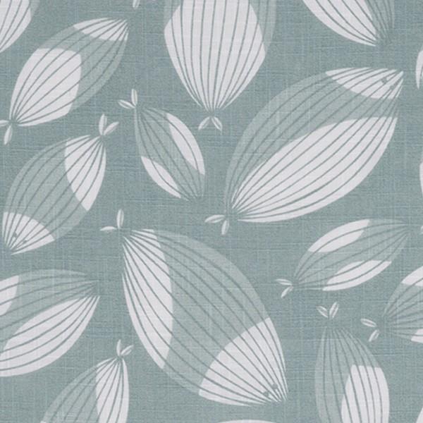 Querbehang / Bistrogardine aus Baumwolle in Leinenoptik