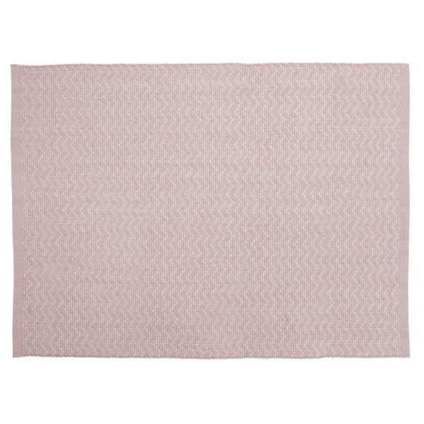 """Tischsets """"Zickzack rosa""""  2er-Set aus Baumwolle gewebt"""