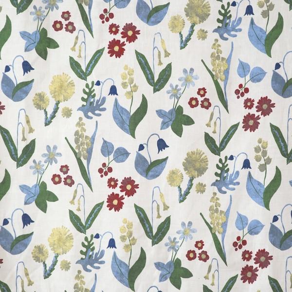 Derzeit sind botanische und florale Motive bei den Gardinen in Schweden absolut trendy