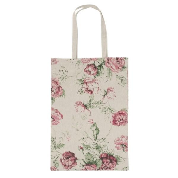 """Einkaufstasche Einkaufsbeutel """"Rosen"""" aus Baumwolle"""