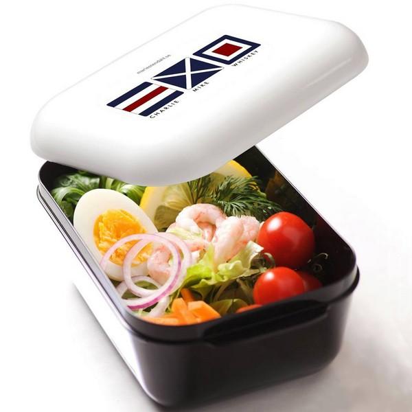 Frozzypack Lunchbox mit Kühlfunktion im Deckel, maritimes Motiv