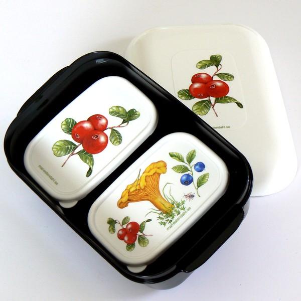 Frozzypack Lunchbox mit Kühlfunktion Preiselbeeren