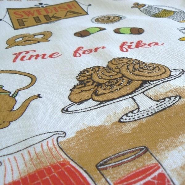 Einkaufsbeutel Swedish Fika aus Baumwolle