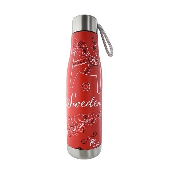 Heiß-Kalt-Flasche Thermosflasche Kurbits rot