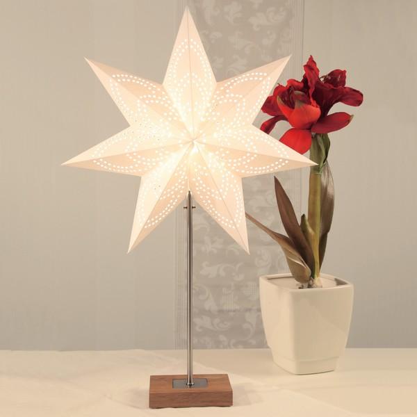 Combi-Pack Tischleuchte mit Stern Weihnachten