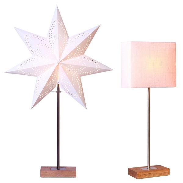 Combi-Pack Tischleuchte und Stern