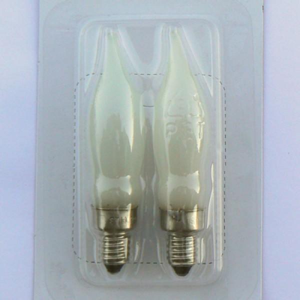2er-Set Ersatzlampen für die Leuchtfiguren Tomte und Tomtefrau