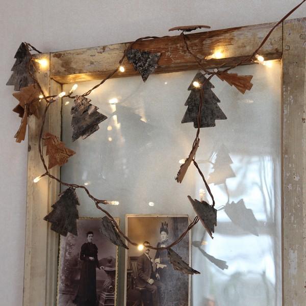 """Schöne Herbstbeleuchtung: LED-Lichterkette """"Nature Tree"""""""