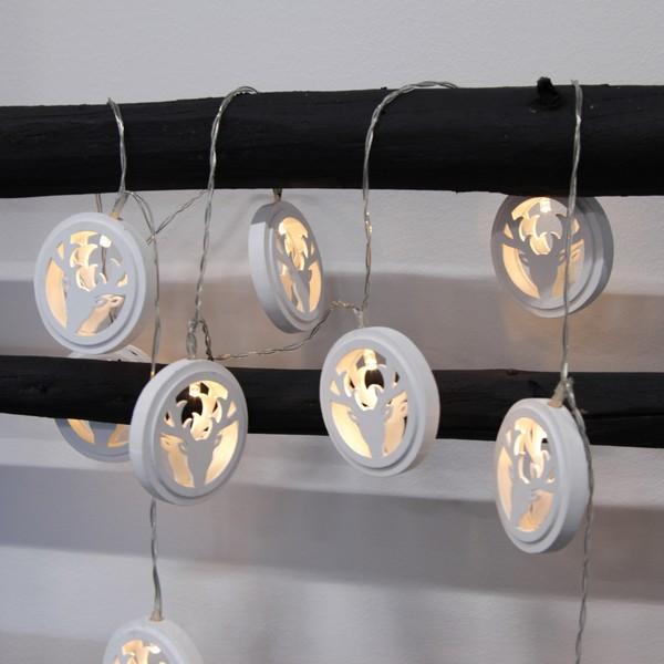 led lichterkette geweih wei batteriebetrieb mit timer bei min butik online kaufen. Black Bedroom Furniture Sets. Home Design Ideas