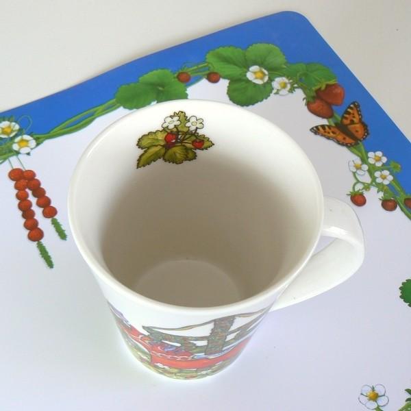 Kaffeebecher / Teebecher Dalapferd Mittsommer