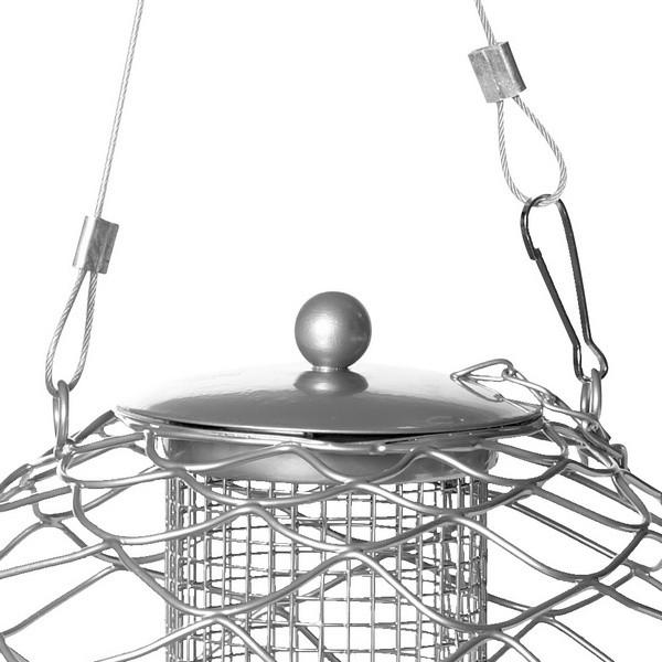 Vogelfuttersäule Globe Nut für Nüsse und Sonnenblumenkerne