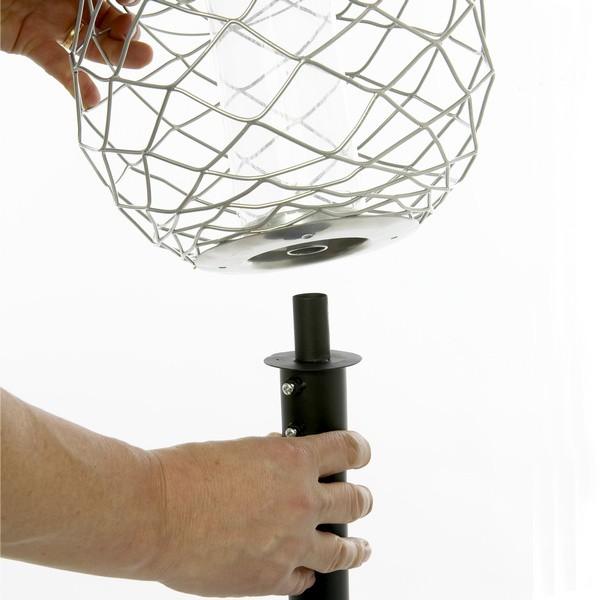 Pfosten für Vogelfutterstation Globe und Tower