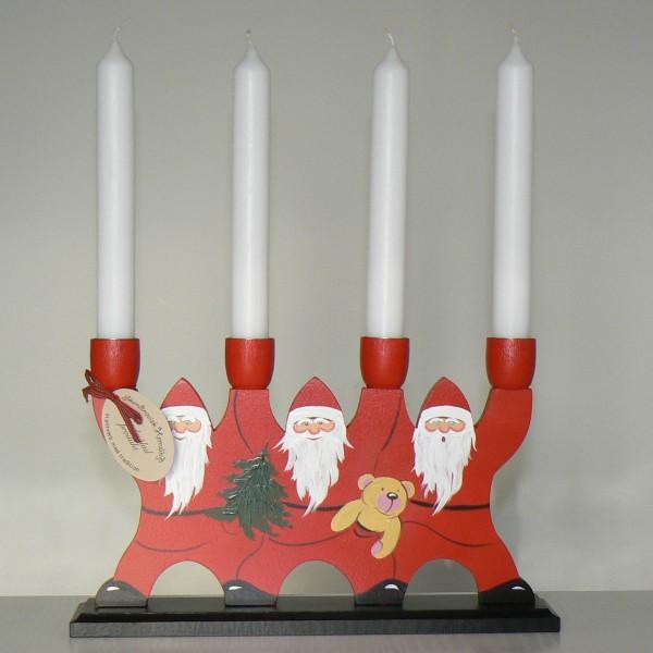 Kerzenhalter Jultomtar von vorn