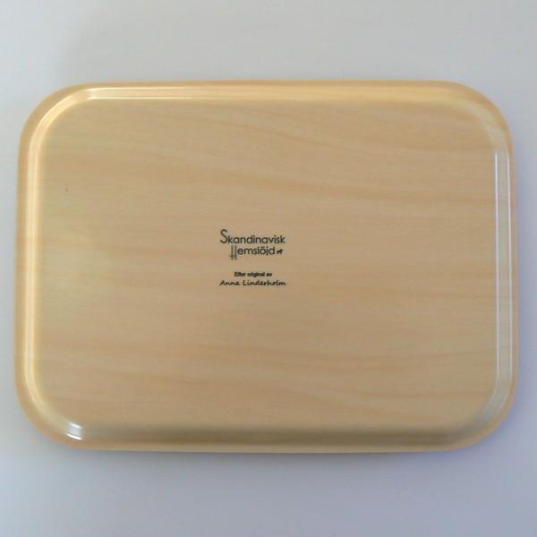 """Rechteckiges Tablett """"Beste Freunde"""" Holz"""