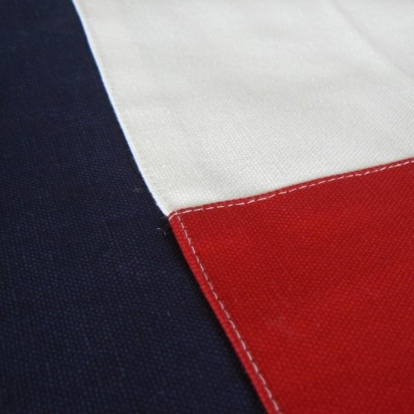 "Maritime Kissenhülle 50x60 cm ""Grebbestad"" blau rot weiß"