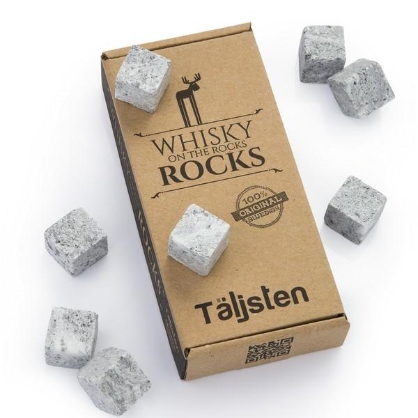 Original Täljsten Whisky Rocks aus Speckstein