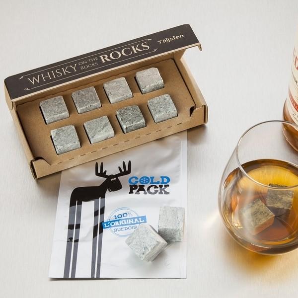Original Täljsten Whiskysteine aus Speckstein