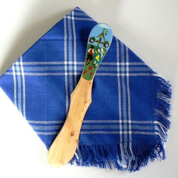 Deckchen und Buttermesser Mittsommertanz