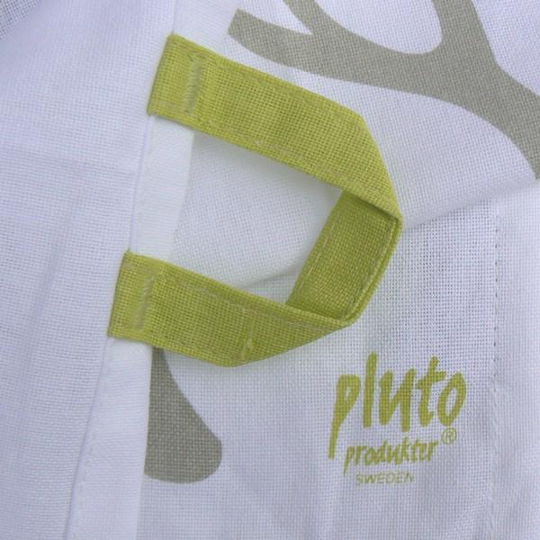 Geschirrtuch Hirsch Pluto Produkter Logo und Aufhänger