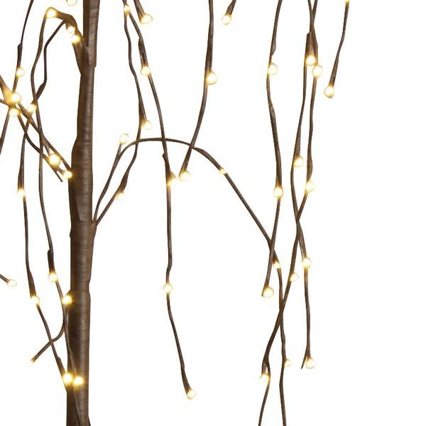 LED-Weidenbaum Detail