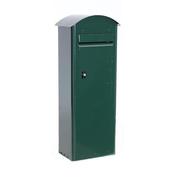 Standbriefkasten Safepost 70-5 Combi racinggreen grün