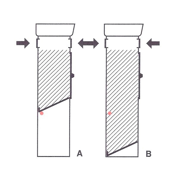 Grafik 2: schwedischer Großraumbriefkasten Safepost 70-5 Combi variables Fassungsvermögen