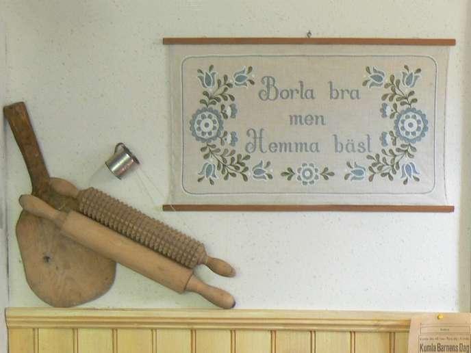 Schwedisches Sprichwort Borta bra men hemma bäst