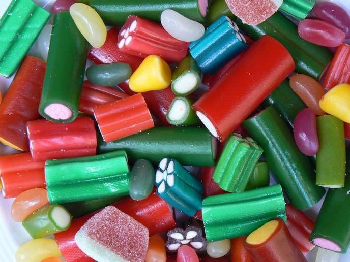 Lösgodis schwedische Süßigkeiten Preis per hg
