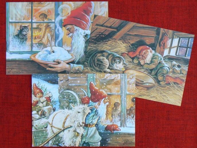 Tomte Jultomte der schwedische Weihnachtsmann